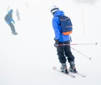 Ski instructor Mt Hutt