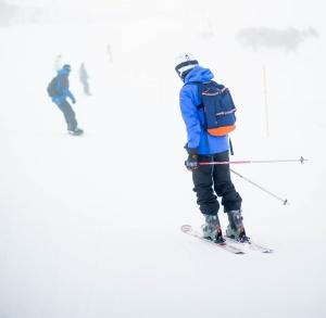 Ski instructor Mt Hutt